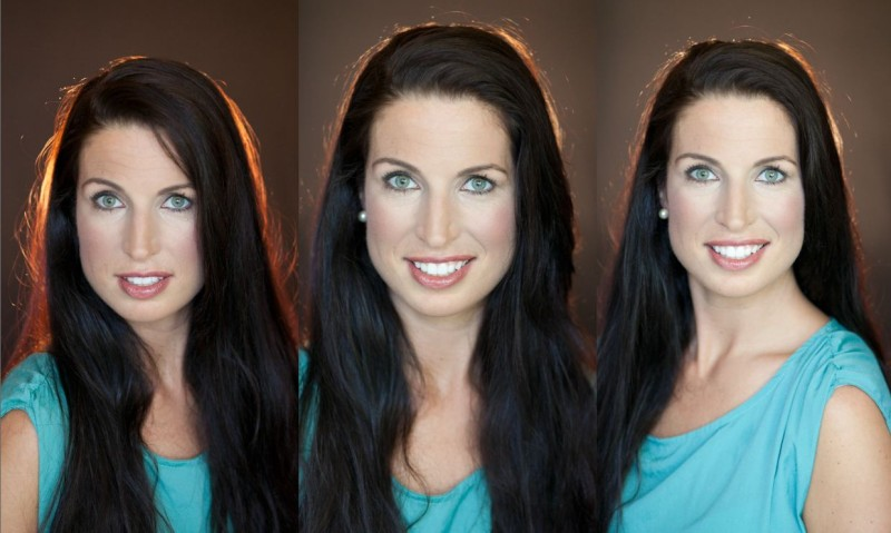 female actor headshot exaples