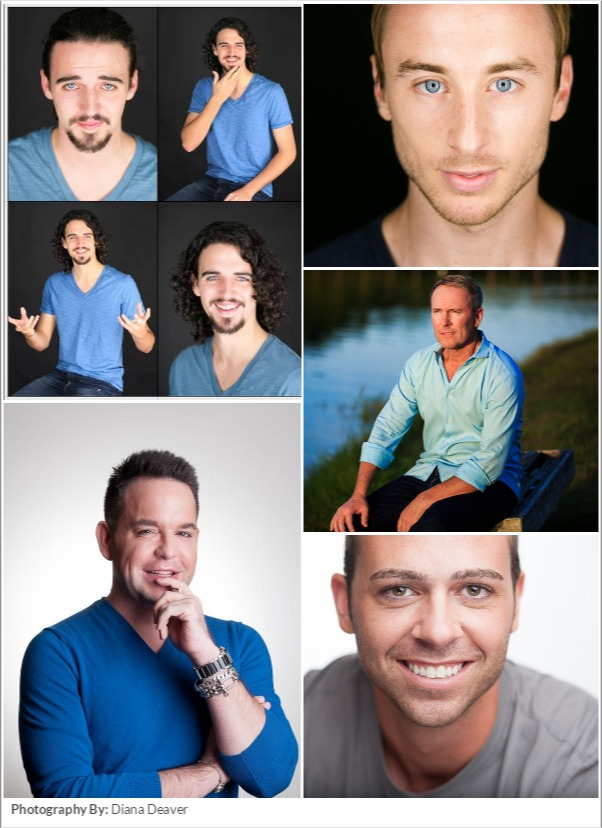 Male Actor Headshot Examples Charleston SC