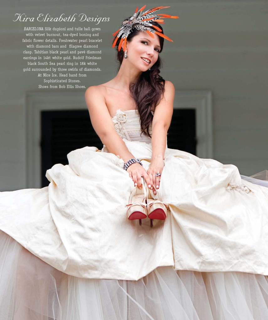 fall 2010 cover of charleston style and design magazine photographed by charleston fashion photographed diana deaver