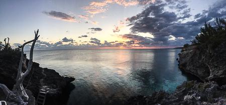 rock cliffs atlantic shore sunset (1) (1)