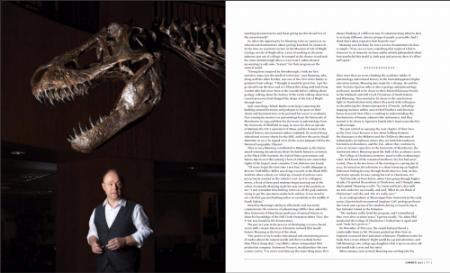 archaeologist paleontologist portrait by DIana Deaver