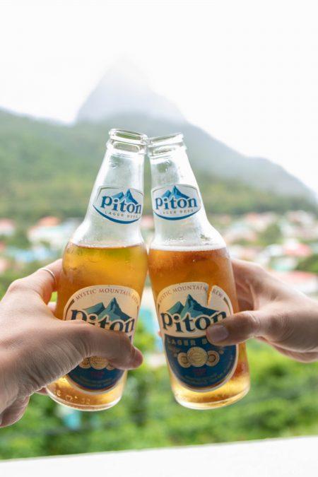piton beer saint lucia