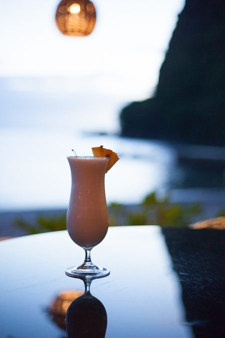 pina colada sugar beach viceroy resort soufriere saint lucia
