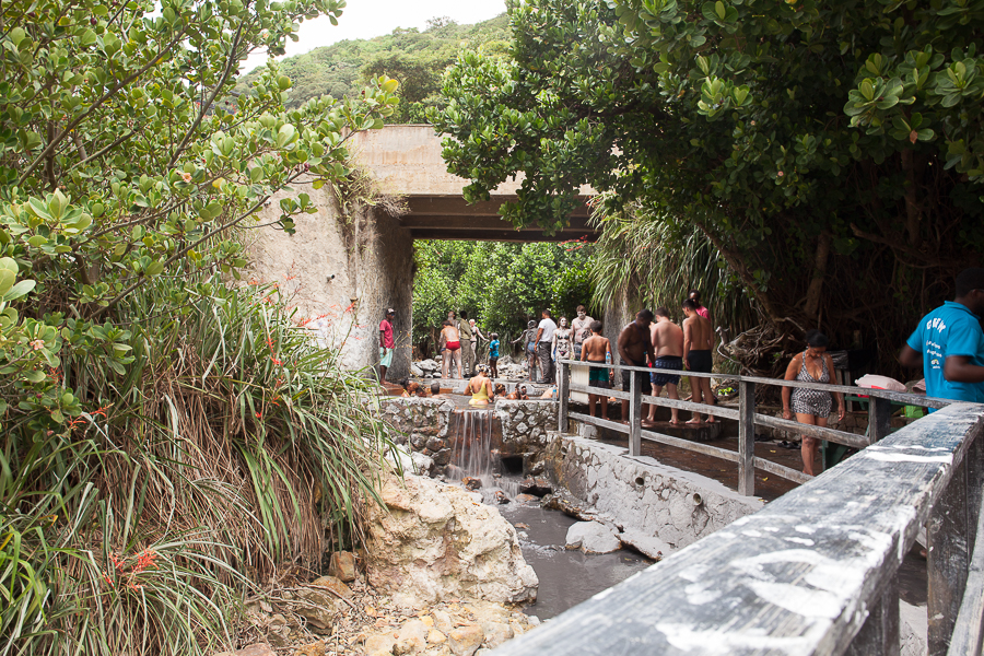 soufriere saint lucia mud baths and mineral springs