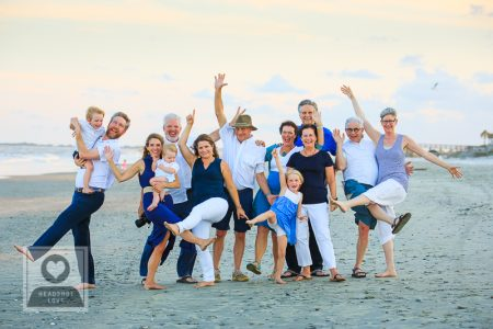 Beach Family Photos charleston sc headshot love photographer